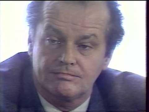 Cinéma CInémas - Conférence de presse Jack Nicholson - 1984