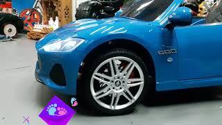 Xe ô tô điện cao cấp cho bé Maserati S302 || Xeotodientreem.org