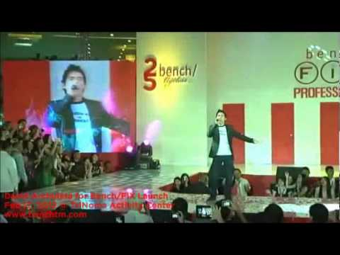 David Archuleta - Touch My Hand @ TriNoma Activity Center for Bench/ Bench FIX Professional Tools