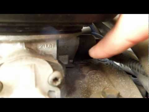 1999 Dodge Dakota 3.9L Magnum SLT Idle Air Control IAC Valve Location