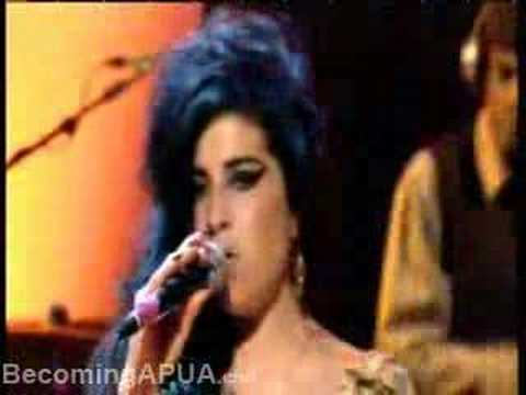 Amy Winehouse - Tears Dry On Their Own (on Jools Holland)