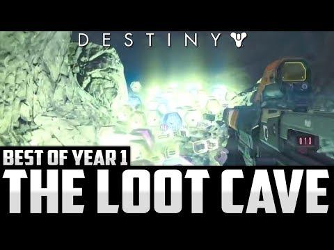 Destiny: BEST LOOT CAVE EVER!! Best Of Destiny #1