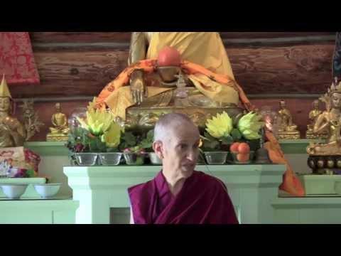 After the Buddha awakened