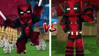 SPİDERMAN SET VS DEADPOOL SET (Minecraft)