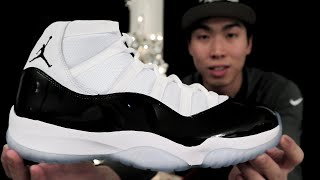 Jordan 11 Concord 2018 - Unboxing, First Impressions, On Feet
