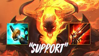 1 SHOT THRESH MID WITH THE NEW HIGH NOON THRESH ! GOOD SPLASH ART BUT BAD IN GAME ? CLASSIC RIOT