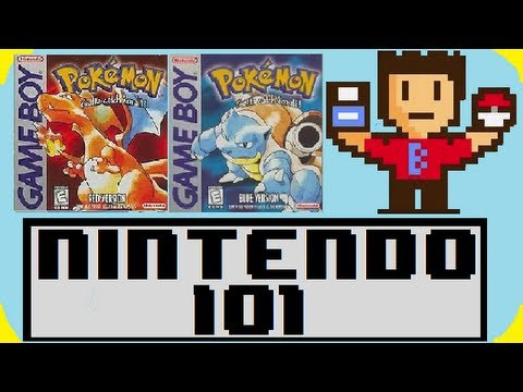Nintendo 101 - The History of Pokemon Red/Blue!