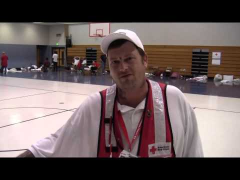 Hurricane Isaac: Shelter Supervisor Semmes Middle School