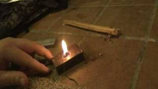 fire starting tricks - fat wood , homemade tinders
