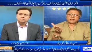 Tonight With Moeed Pirzada 23 April 2016 - Hassan Nisar Bashing PMLN