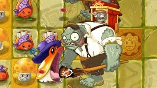 Plants vs Zombies 2 - Lost City Part 1: Gargantuar !