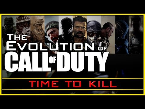 How has Time to Kill Changed? | The Evolution of Call of Duty #1