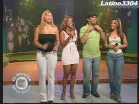 La Condesa thick dominican tv host in white pants