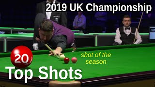 Top 20 Shots | 2019 UK Championship