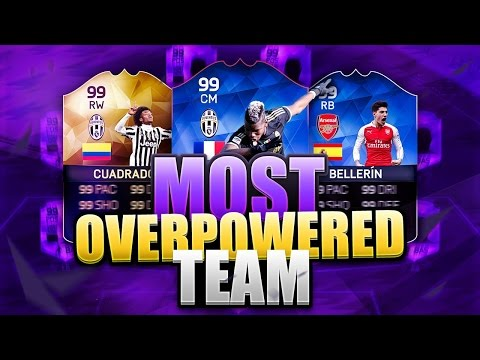 FIFA 16's MOST UNBEATABLE SIDE? MOST OP FIFA 16 SQUAD, GREAT FOR WAGERS!