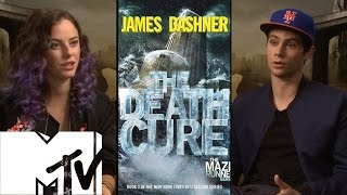 Maze Runner: The Death Cure - Cast Talk Finale | MTV