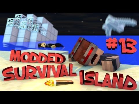 Survival Island Modded - Minecraft: The Haircut Story! Part 13
