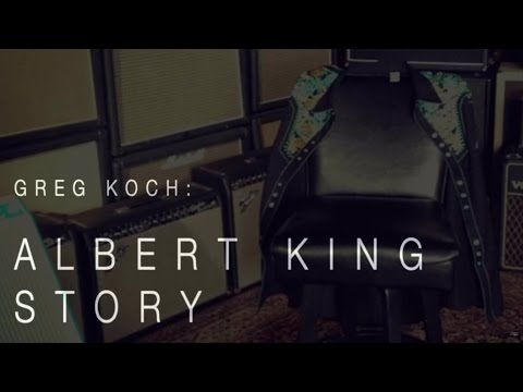 Greg Koch On Meeting Albert King• Wildwood Guitars Story