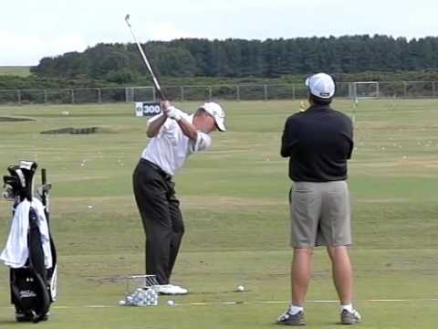 STEVE STRICKER SLOW MOTION RANGE TURNBERRY OPEN 2009 Video