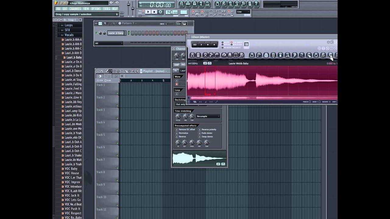 Как сделать голос в fl studio