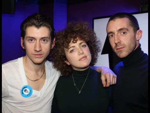 The Last Shadow Puppets interview on BBC Radio 1 2016