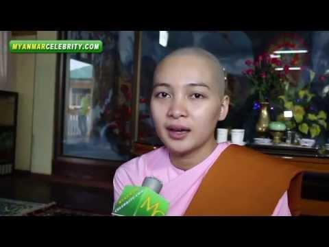 Moe Yu San Becomes a Nun on her 22nd Birthday
