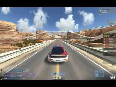 Trackmania 2 Canyon - Full Speed
