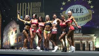 Victory Pose - Women Sportmodel - WFF European Championship 2018