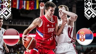 Latvia v Serbia - Full Game - Final - FIBA U18 European Championship 2018