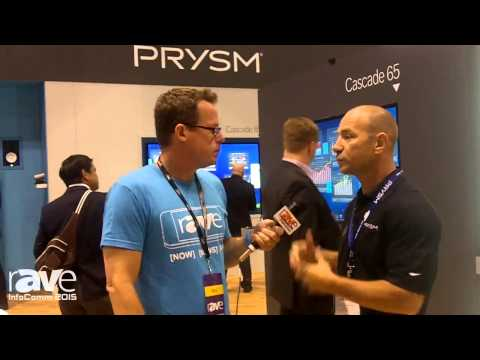 InfoComm 2015: Gary Kayye Talks With Dana Corey, VP of Sales at Prysm