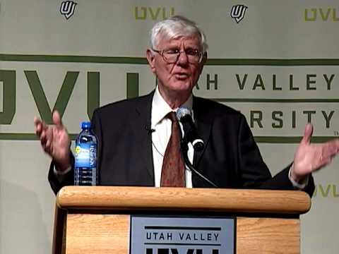 UVU: Gordon S. Wood Pulitzer Prize-Winning Author