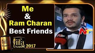 Me & Ram Charan Best Friends @ IIFA Utsavam || #IIFAUtsavam2017