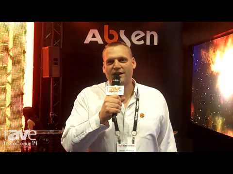 InfoComm 2014: Absen Exhibits Its F8 Flexible Curtain Display