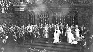 Inauguration Queen Wilhelmina 1898