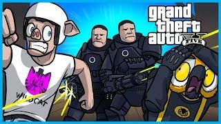 GTA 5 Online The Doomsday Heist! - Fighting Invisible Juggernaut Bosses! (Part 4)