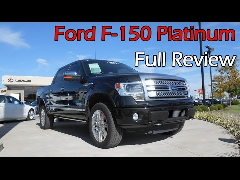 2013 / 2014 Ford F-150 Platinum: Full Review