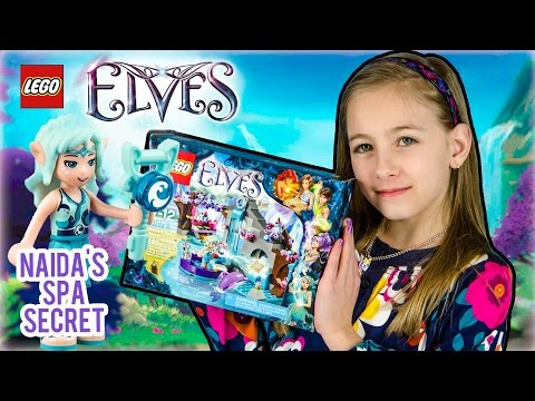 LEGO Elves - 41072 Naida's Spa Secret  *NEW* Time-lapse Unboxing Video review by PLP