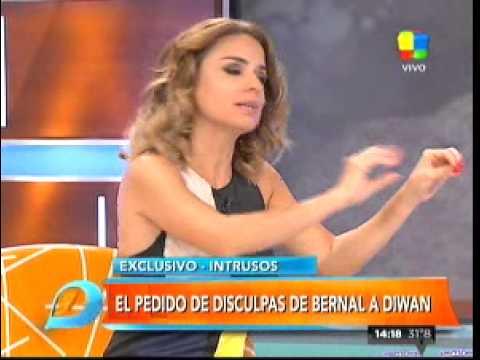 Gisela Bernal reconoció por WhatsApp lo que le hizo a Diwan y le pidió perdón