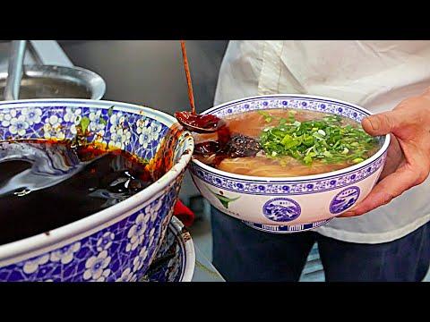 Beijing Street Food - Lanzhou Beef Hand Pulled Noodles