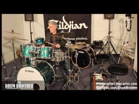 Steve Gadd - Drum Lesson interview drum solo - Menu - The Drum Brother