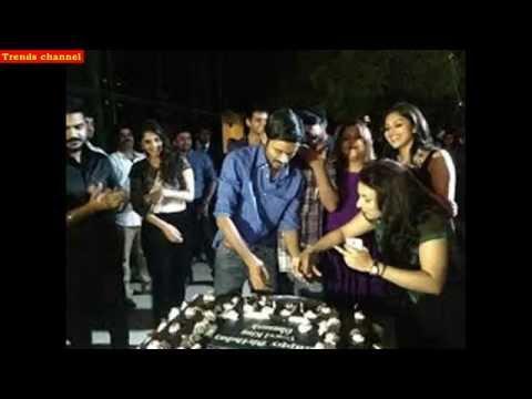 Dhanush Birthday Party 2014 - Dhanush Open Talk video