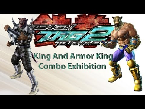 TEKKEN TAG 2 King And Armor King Combo Video