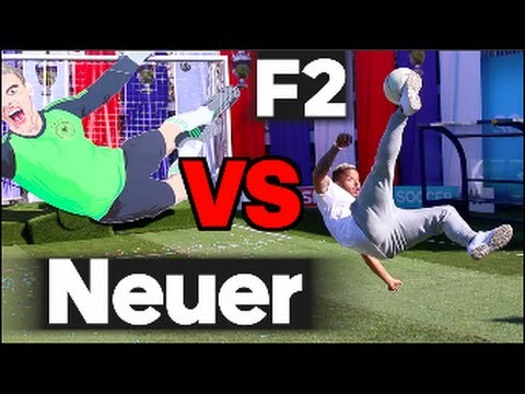 EPIC BATTLE |  F2 VS Manuel Neuer Machine!