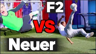 EPIC BATTLE    F2 VS Manuel Neuer Machine!
