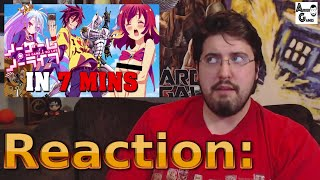 No Game No Life IN 7 MINUTES: Reaction #AirierReacts