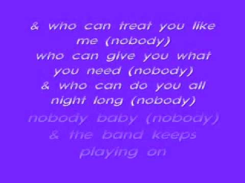 Keith Sweat-Nobody Lyrics