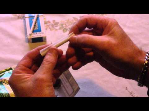 How to roll a Cigarette with and without a filter Easily