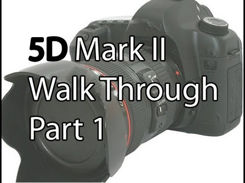 What Each Function Of The Canon 5D Mark II Does & How To Use Them Part 1