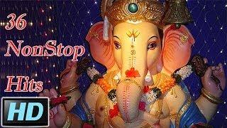 36 NonStop Superhit Marathi Ganpati Songs