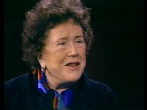 Julia Child at the CIA 1990